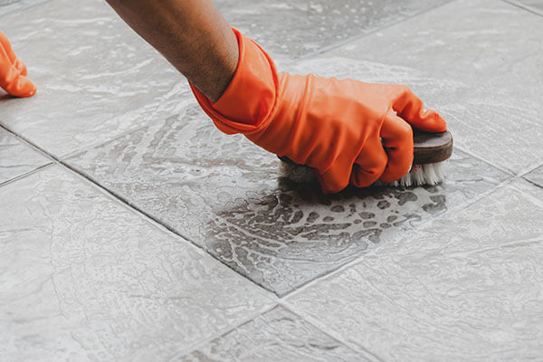 commercial cleaning services tile cleaning