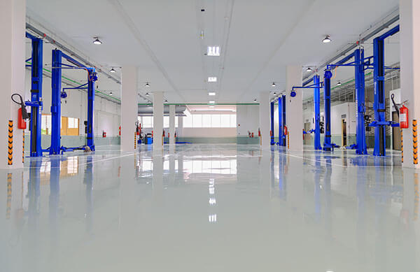 commercial cleaning services floor waxing