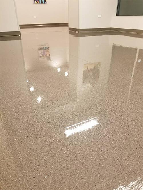 floor waxing services